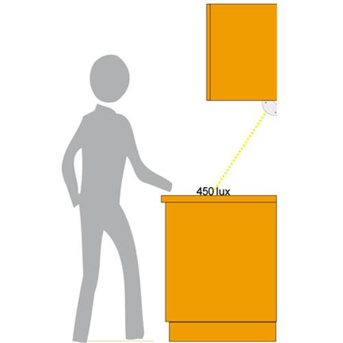 Koksbelysning Tak : Bonkbelysning i tre longder, med lysror, integrerad notsladd och