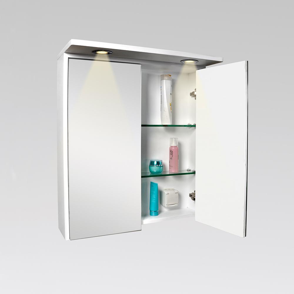 Spegelskåp Bathlife Ideal Med Belysning Spegelskåp