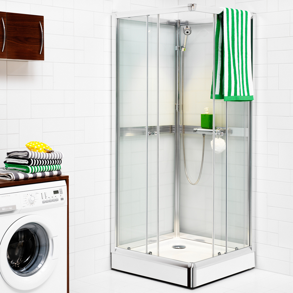 duschkabin 80x80