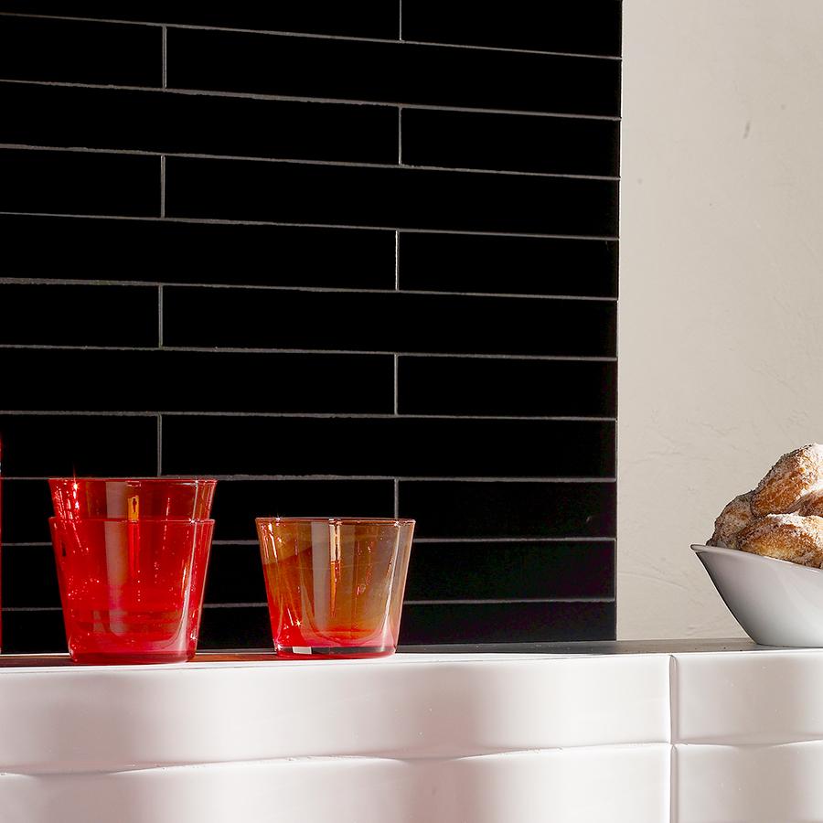 Kok Inspirationsbilder Kakel : svart kakel kok  Bilder, Kok matplats, Svart, Vitt, Kakel Hemnet