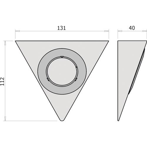 Koksbelysning Tak : Bonkbelysning Beslag Design Piramide Rostfritt Stol  Koksbelysning