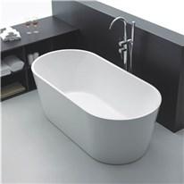 Klicka här för att gå till Badkar Bathlife Ideal Fristående Rund Vit