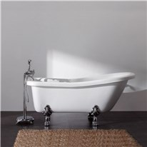 Klicka här för att gå till Tassbadkar Bathlife Ideal Vit