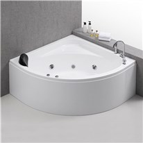 Klicka här för att gå till Massagebadkar Bathlife Ideal Hörn Vit