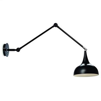 Vägglampa LampGustaf Standford Svart