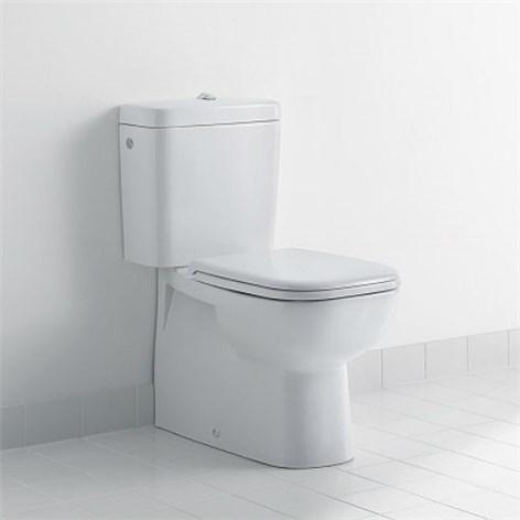 Avlopp toalett avstånd från vägg