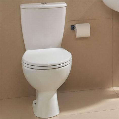 Toalettstol med p lås
