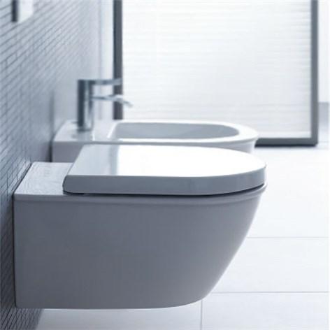 Vägghängd toalett fixtur