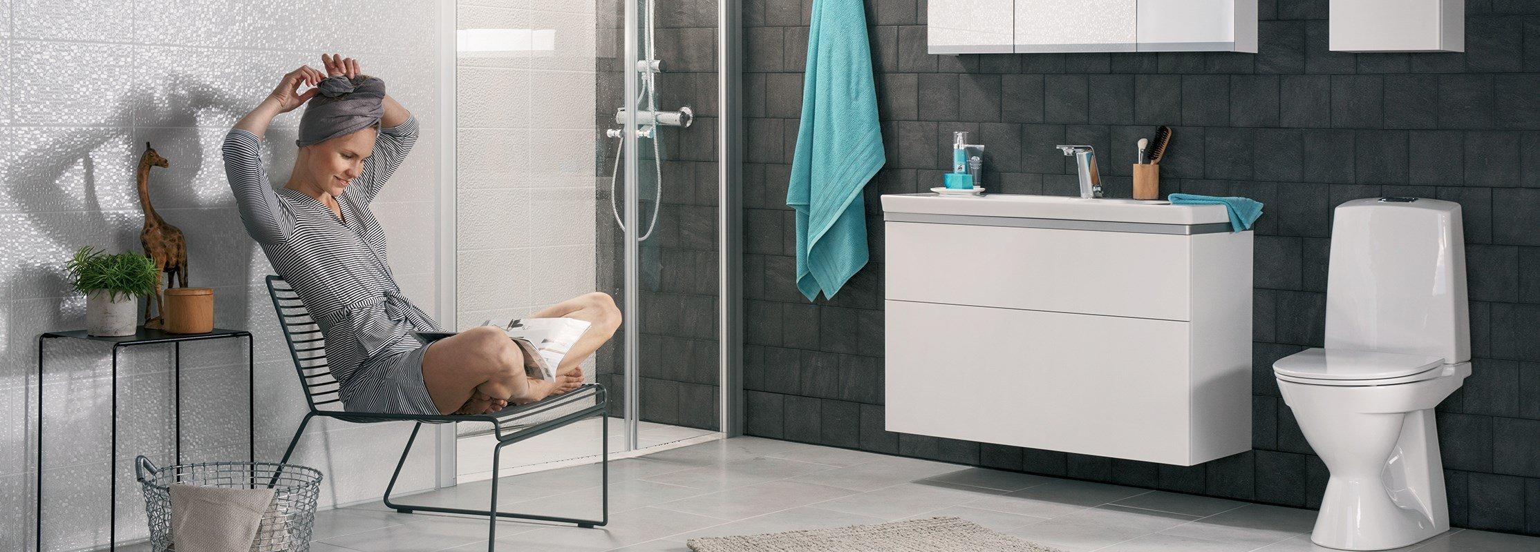 Inredning toalettstol ido : IDO Badrum - Köp IDO toalett, tvättställ och dusch | Bygghemma.se