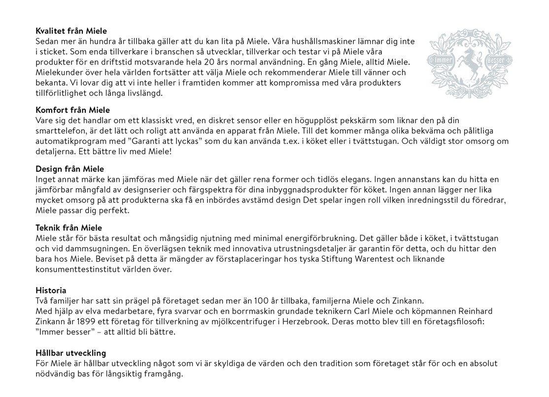 Miele återförsäljare på nätet   Bygghemma.se