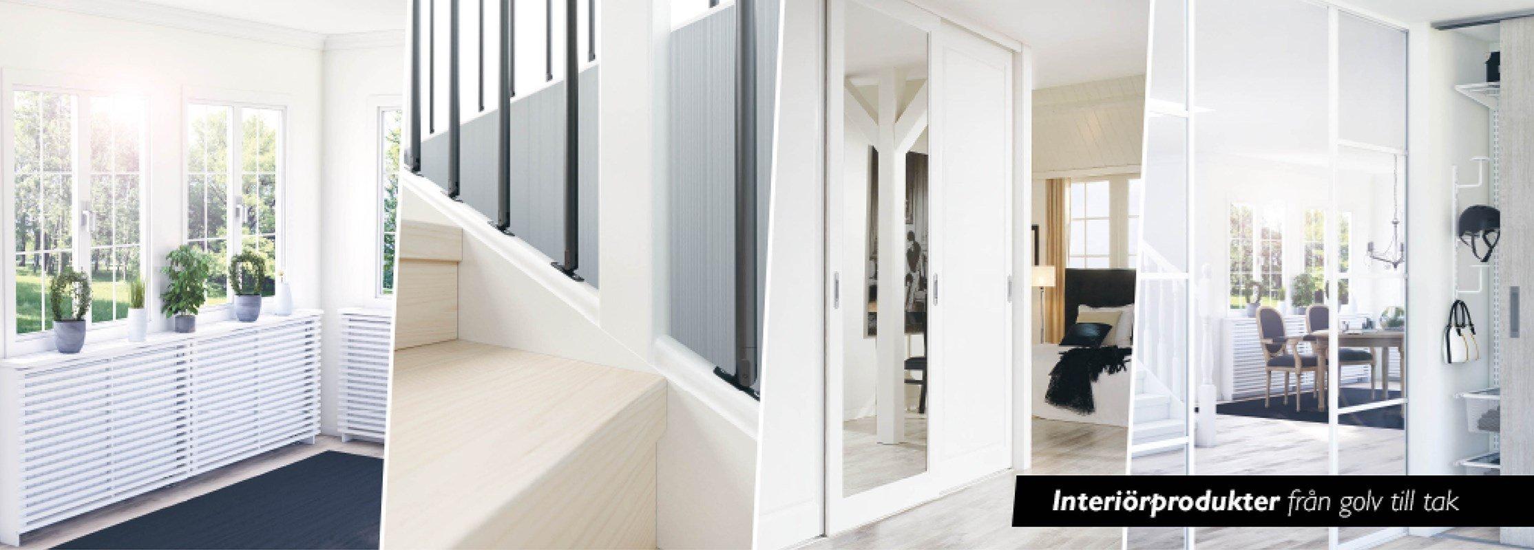 Lundbergs inredningsprodukter - Bygghemma.se : dekorfönster inomhus : Fönster