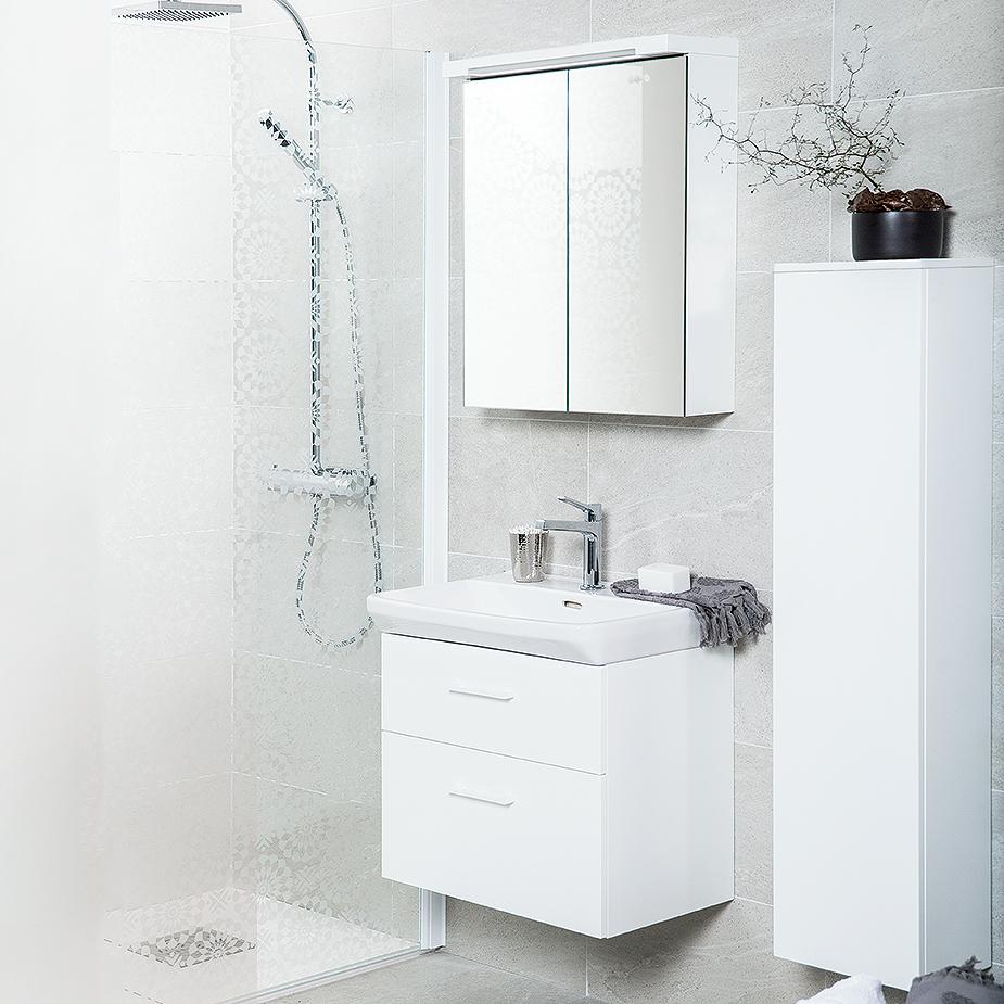 Tvättställskåp Svedbergs Forma Vit Tvättställsskåp