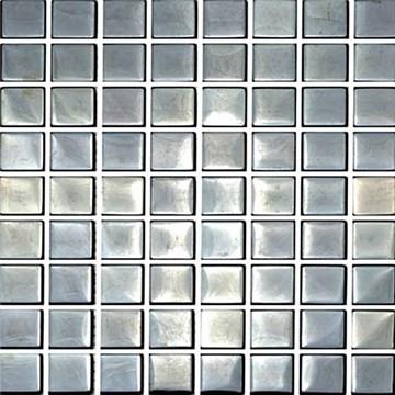 Metallmosaik CC Höganäs Blank Svart 30x30 9905-02G808