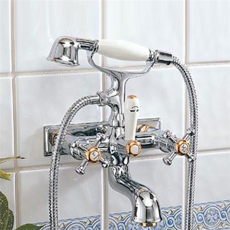 badkarsblandare med dusch mora