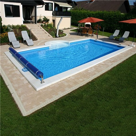 Pool Rund 4 M. Affordable Set Blau Meter With Pool Rund 4 M. Cheap X ...