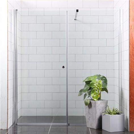Inredning duschdörrar rak vägg : Duschdörr Bathlife MÃ¥ngsidig Rak Vägg + Rak Dörr Mellan Vägg ...