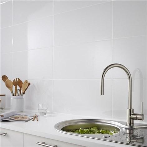 Kakel Hill Ceramic Premium Bianco Vit Blank 30x60 Vitt