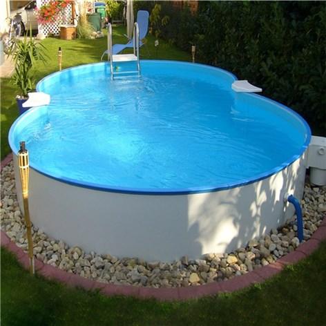Ttaformad pool clear pool mallorca ovanmark pool ovan for Pool billig