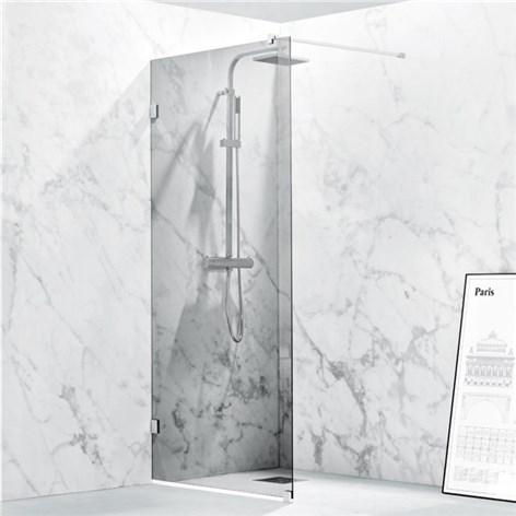 Inredning duschdörrar glas : Duschdörr Svedbergs 180º Nisch Enkel Klarglas - Duschdörrar - Dusch