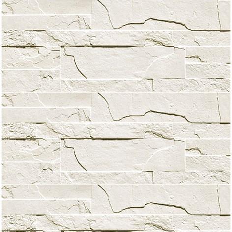 Väggdekor G : Väggdekor golvabia stone wall vit väggsten väggbeklädnad