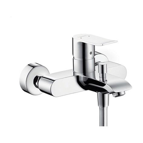 Badkar badkarsblandare med dusch : Dusch- och Badkarsblandare Hansgrohe Metris 150 cc ...