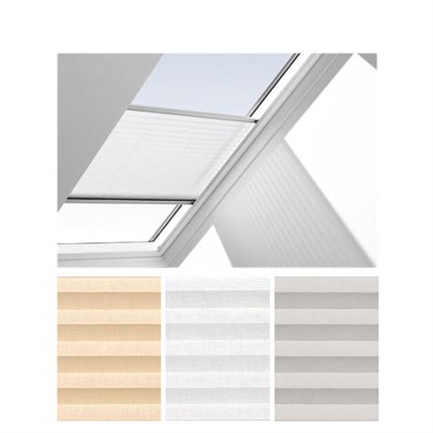 pliss gardin velux manuell fhl ck02 1016sv. Black Bedroom Furniture Sets. Home Design Ideas