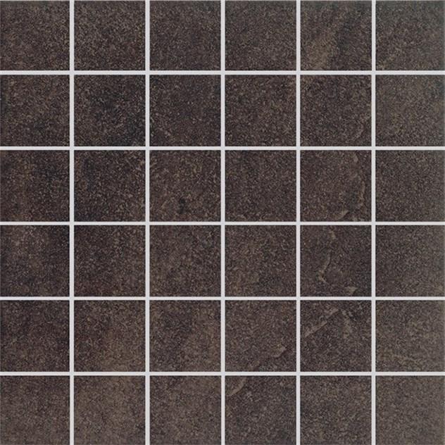 mosaik golvabia quarz design brun mosaik 5x5 362263. Black Bedroom Furniture Sets. Home Design Ideas