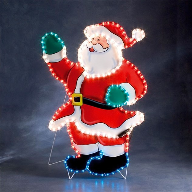 tomte siluett led