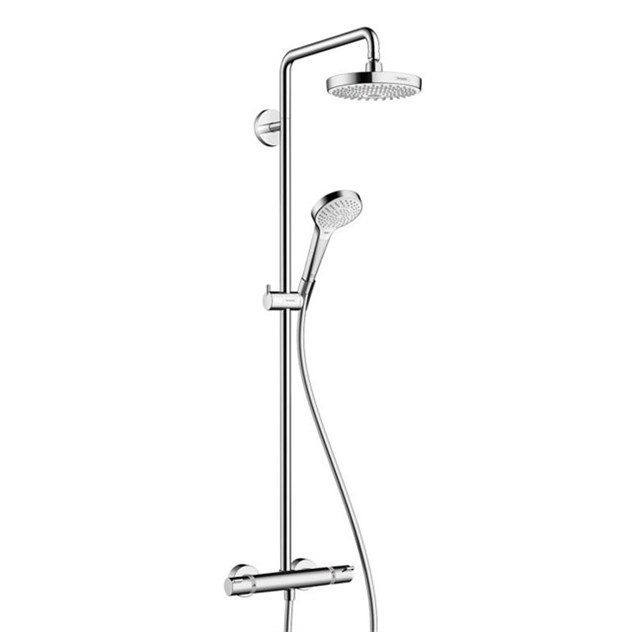 takduschset hansgrohe croma select s 180 showerpipe 2jet. Black Bedroom Furniture Sets. Home Design Ideas