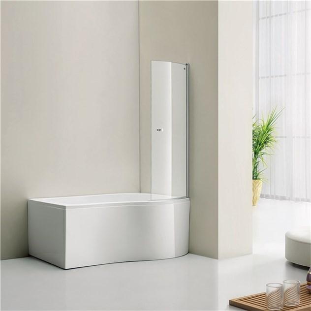 Badkar Bathlife Ideal Comfort med Duschvägg Form STR514116